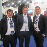 With Amadeu and Angel, our partners from Barcelona