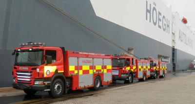 Fire trucks for export