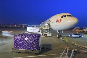 Cargo loading onto aircraft