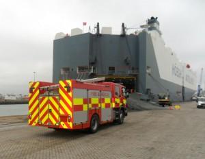 Vehicle exports - firetrucks