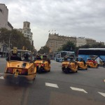 And they're off! Great fun in Barcelona with Go Car Tours!