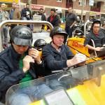 Ross Negus WLA Barcelona GO Car tour