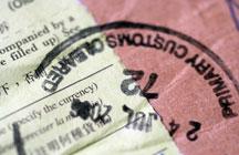 customs stamp