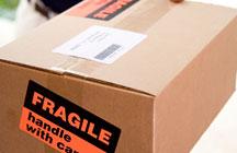 fragile carton